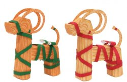 Christmas-tree Ornaments (Yule Goat)