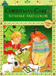 Coloring Book. Christmas Cards