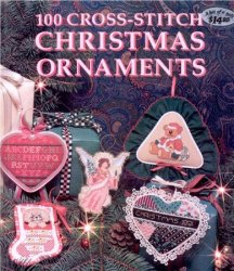 100 Cross-Stitch Christmas Ornaments