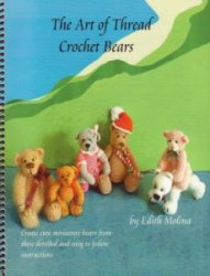 The Art of Thread Crochet Bears