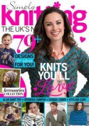 Simply Knitting Issue 129