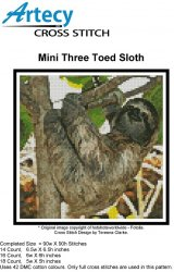 Mini Three Toed Sloth