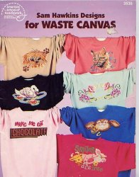 3535 - Designs for waste canvas book