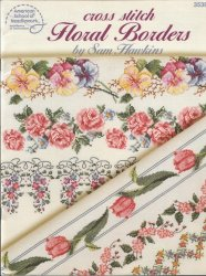 3538 Cross Stitch Floral Borders