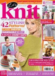 Let's Knit �75 January 2014