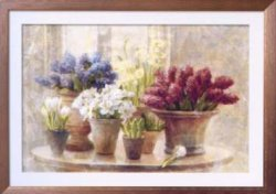 I love cross stitch Spring Bilb Still Jife NDH-010