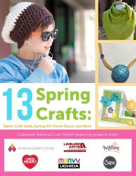 13 Spring Crafts Easter Craft Ideas Spring DIY Home Decor and More