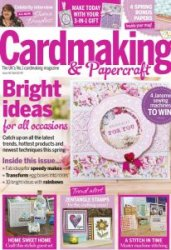 Cardmaking Papercraft Issue 142 April 2015