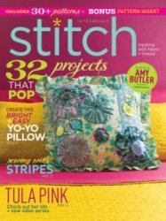 Interweave Stitch  That POP - Summer 2015
