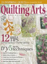 Quilting Arts Magazine - February/March 2015
