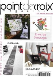 Point de Croix Magazine-N�97-March-April-2015 Envie de Printemps