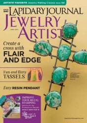 Lapidary Journal Jewelry Artist №69 April 2015
