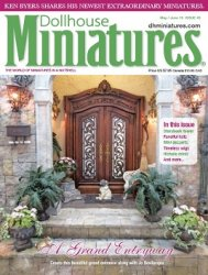 Dollhouse Miniatures - May-June 2015