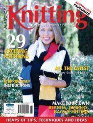 Knitting - Volume 6 No2