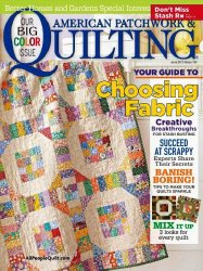 American Patchwork & Quilting  �134 June 2015