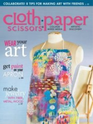 Cloth Paper Scissors May-June 2015