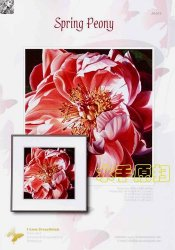 I love CrossStitch JH-015 Spring Peony