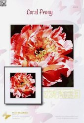 I love CrossStitch JH-014 Coral Peony
