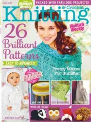 Woman's Weekly Knitting & Crochet №6 2015