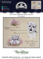 DMC K4638 West Highland White Terrier