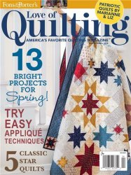 Love of Quilting - March/April 2015
