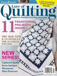 Love of Quilting №115 2015