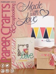 Paper Crafts & Scrapbooking - February 2015