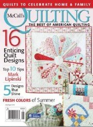 McCall's Quilting  - July/August 2015