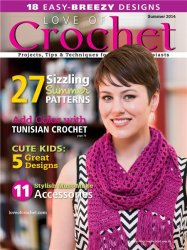 Love of Crochet - Summer 2014