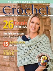 Love of Crochet - Spring 2014