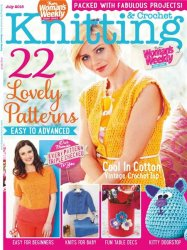 Womans Weekly Knitting & Crochet - July 2015