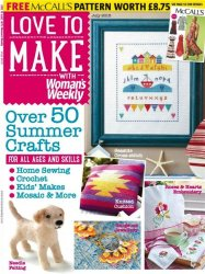 Love to make with Woman's Weekly �7  July 2015