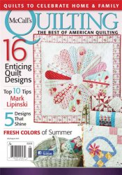 McCall's Quilting �4, Vol. 22  2015