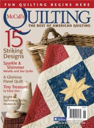 McCalls Quilting №3, Vol. 22 2015