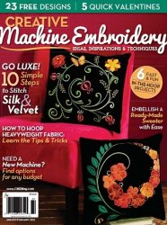 Creative Machine Embroidery - January/February 2015