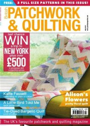 Patchwork & Quilting - July 2015