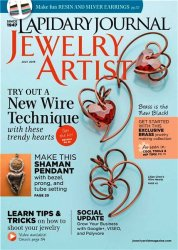 Lapidary Journal Jewelry Artist - July 2015
