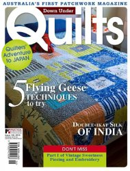 Down Under Quilts №156, 2013