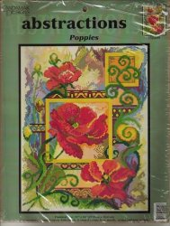 Candamar Designs 52200 Abstractions Poppies