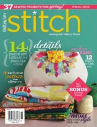 Interweave Stitch - Spring 2010