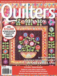 Quilters Companion №74 2015