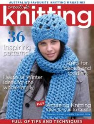 Creative Knitting №49  2015