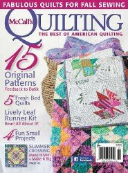 McCall's Quilting Vol. 22 №5 2015