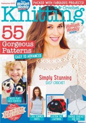 Womans Weekly Knitting & Crochet №9 2015