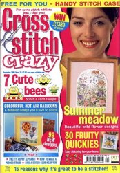Cross Stitch Crazy �24, 2001
