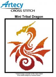 Mini Tribal Dragon