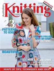 Australian Knitting Vol. 7 No.3 2015