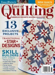 Love of Quilting №7-8, 2015
