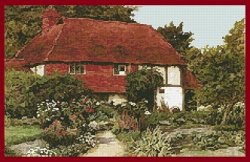 Artecy Cross Stitch - A Cottage Garden