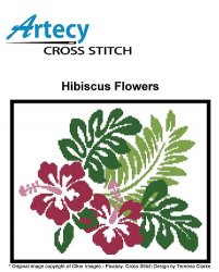 Artecy Cross Stitch - Hibiscus Flowers